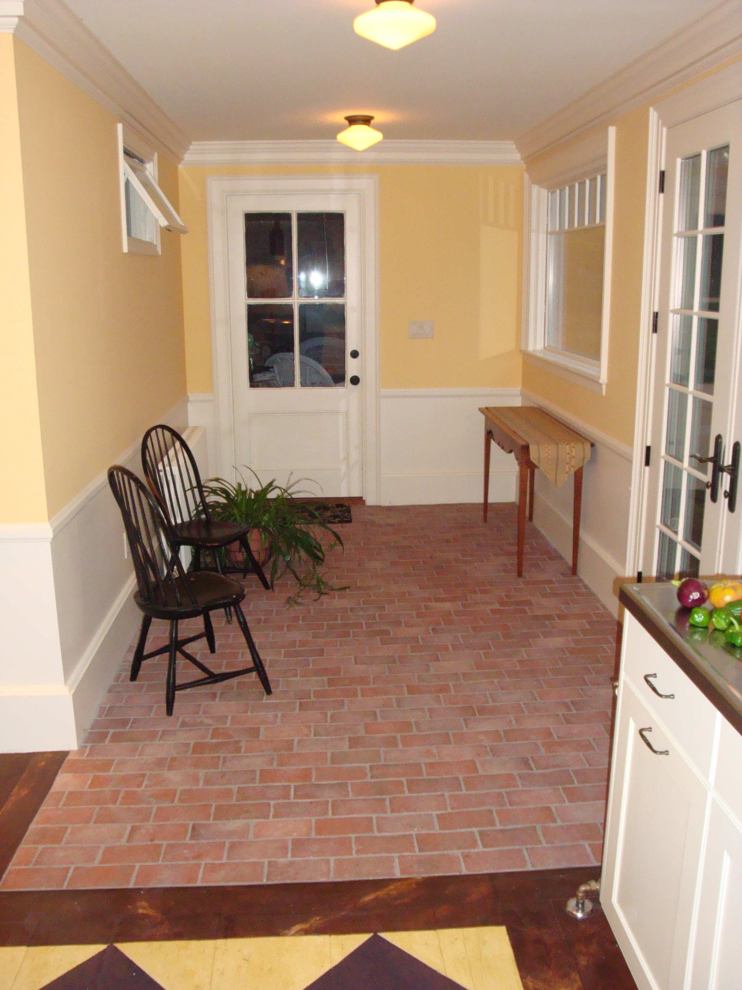 Brick Flooring Kitchen News From Inglenook Tile New Pictures Products And Ideas About